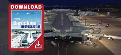 Mega Airport Barcelona professional pour Prepar3D V4