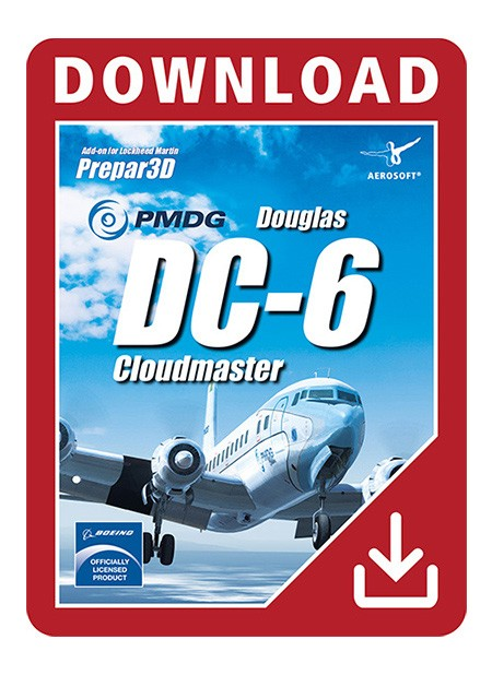 PMDG Douglas DC-6 Cloudmaster for P3D V4 | Aerosoft US Shop