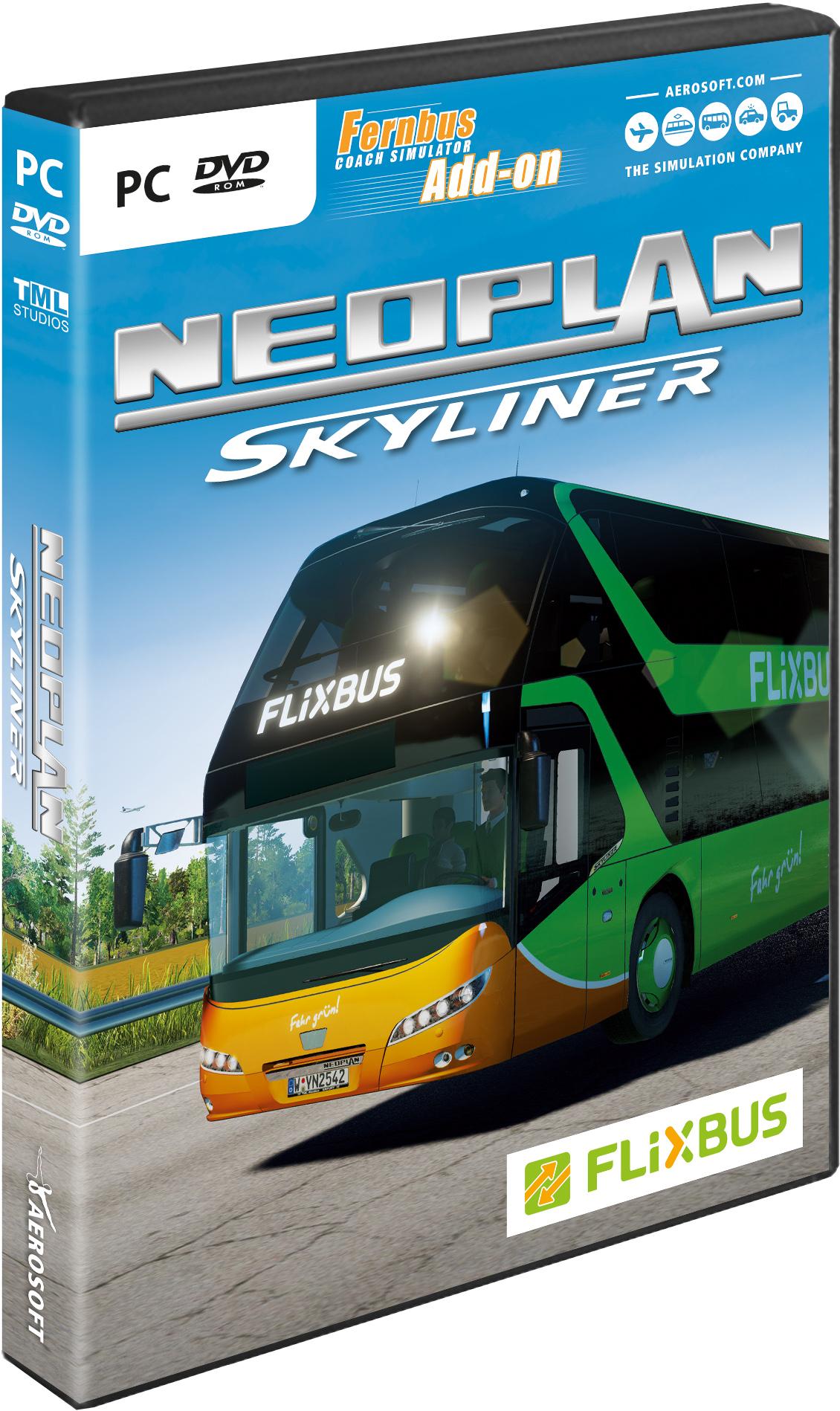 fernbus simulator add on neoplan skyliner aerosoft gmbh. Black Bedroom Furniture Sets. Home Design Ideas