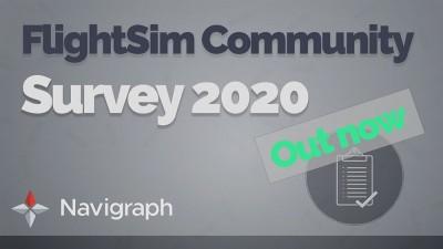 FlightSim Community Survey 2020 Now Online!