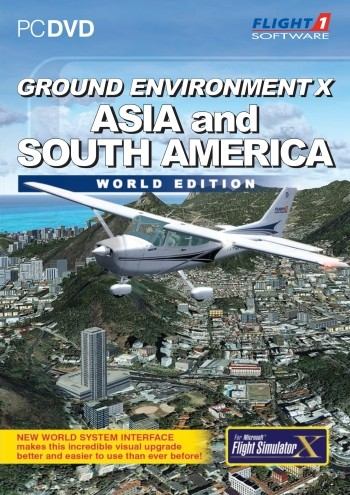 Ground Environment X - Asia & South America World Edition | Aerosoft