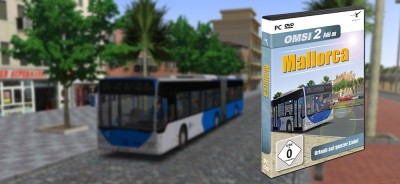 OMSI 2 Add-on Mallorca maintenant disponible en version CD !
