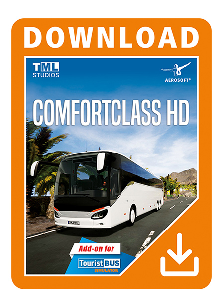 Tourist Bus Simulator Add-on - ComfortClass HD | Aerosoft Shop