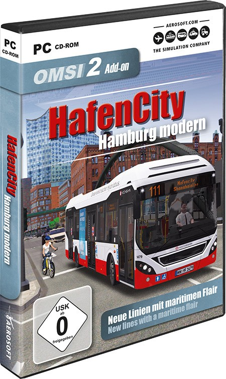 OMSI 2 Add-on HafenCity - Hamburg modern | Aerosoft Shop