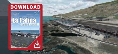 Canary Islands professional - La Palma para Prepar3D V4
