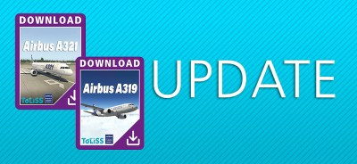 ToLiss Airbus A319 & A321 Updates
