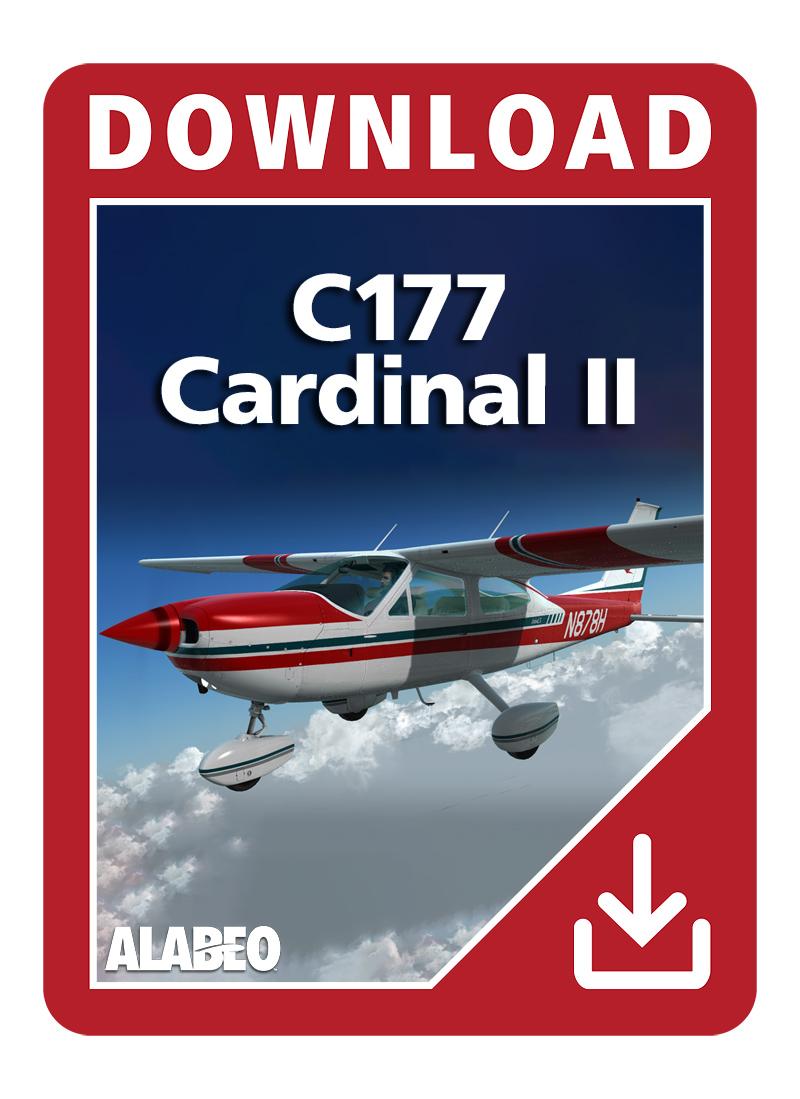 Alabeo C177 Cardinal Ii Aerosoft Us Shop
