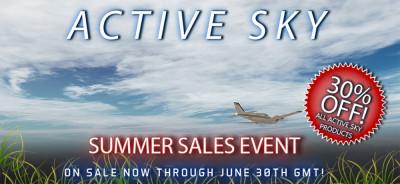 Active Sky Summer Sale Event