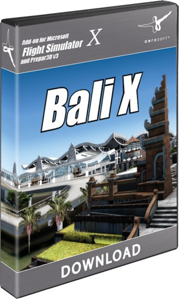 FSX P3D Aerosoft Bali-X Download - FRN Simulation