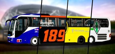 Fernbus Coach Simulator Add-on Football Team Bus