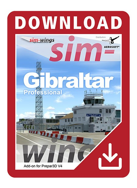 Gibraltar professional | Aerosoft Shop
