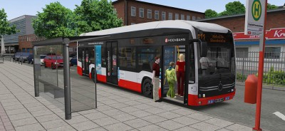 OMSI 2 Add-on E-Bus Hamburg