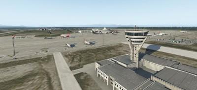 XPlane aeropuerto Antalya
