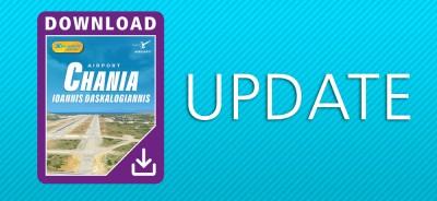 Airport Chania - Ioannis Daskalogiannis XP | Update