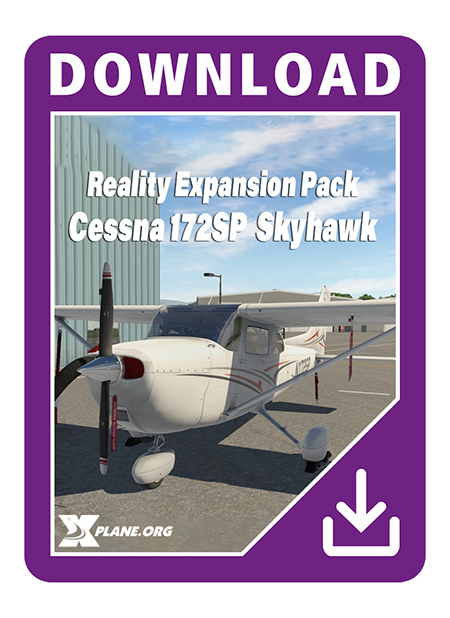 Reality Expansion Pack For Cessna 172SP Skyhawk Aerosoft