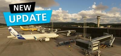 MSFS DLC Aerosoft Airport Trondheim-Vaernes | Update