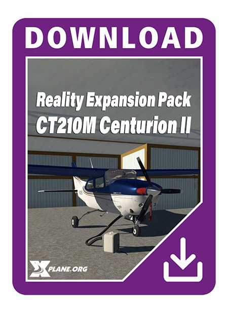 Reality Expansion Pack for CT210M Centurion II (XP11) | Aerosoft Shop